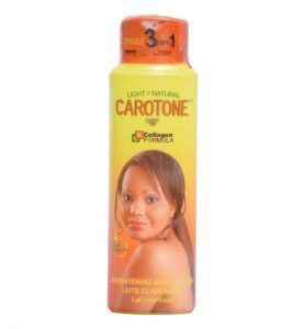 CAROTONE – BRIGHTENING BODY LOTION 550ML