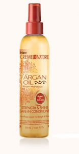 CREME OF NATURE – ARGAN OIL STRENGTH & SHINE LEAVE IN CONDITIONER