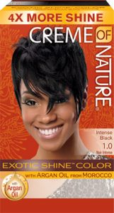 CREME OF NATURE – INTENSE BLACK 1.0 EXOTIC SHINE COLOR