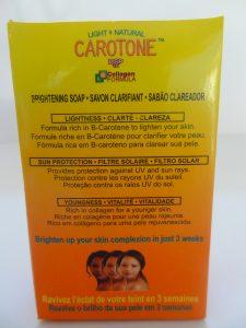 CAROTONE – BRIGHTENING SOAP 1