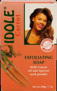 JABONES PARDO – IDOLE CARROTTE EXFOLIATING SOAP