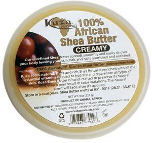KUZA NATURALS – AFRICAN SHEA BUTTER CREAMY