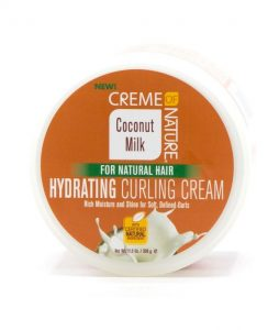 CREME OF NATURE – HYDRATING CURLING CREAM 4