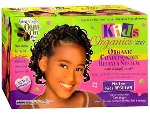AFRICA BEST ORGANICS KIDS – ORGANIC CONDITIONING RELAXER SYSTEM REGULAR