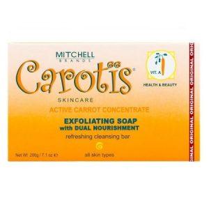 CAROTIS – EXFOLIATING SOAP DUAL NOURISHMENT