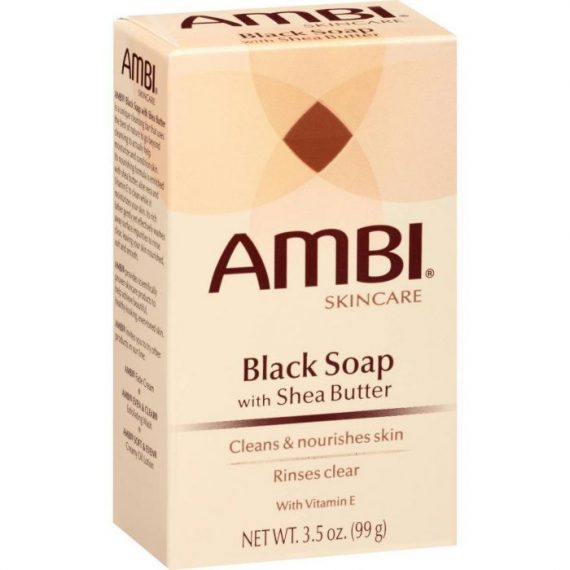 BLACK SOAP WITH SHEA BUTTER