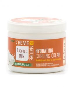 CREME OF NATURE – HYDRATING CURLING CREAM 1
