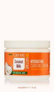 CREME OF NATURE – HYDRATING CURLING CREAM 2
