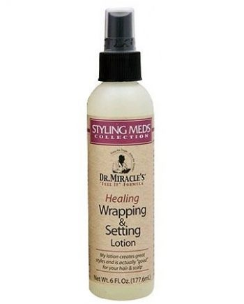 HEALING WRAPPING & SETTING LOTION