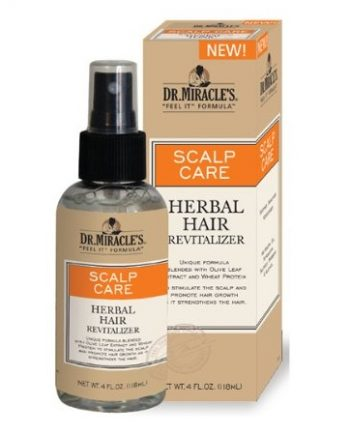 DR.MIRACLE'S SCALP CARE REVITALIZING HERBAL TONIC 4 FL.OZ/ 118 ML
