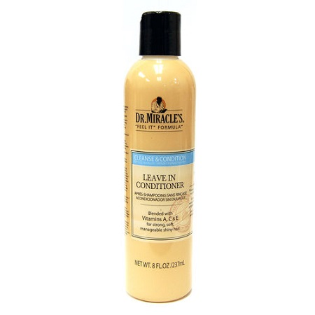 CLEANSE & CONDITION LEAVE IN CONDITIONER 8 OZ