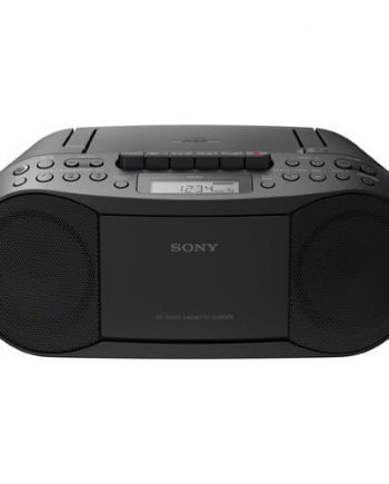SONY, CFD-S70, CASSETTE, CD, RADIO AM/FM, NOIR