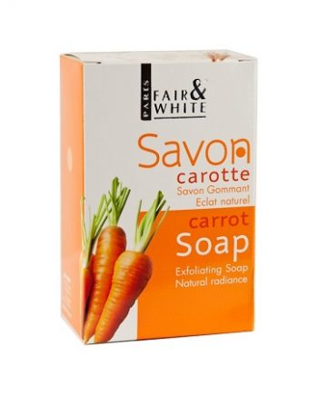 SAVON CAROTTE GOMMANT FAIR&WHITE PARIS, 200G 7 OZ, ECLAT NATUREL, 877917005431