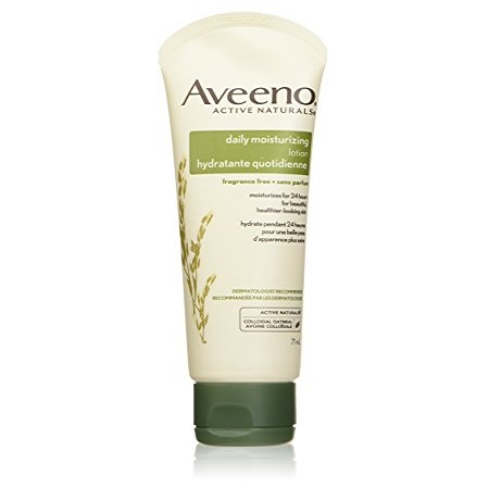 AVEENO ACTIVE NATURALS - DAILY MOISTURIZING LOTION FRAGANCE FREE & MOISTURIZES FOR 24 HOURS, 71 ML