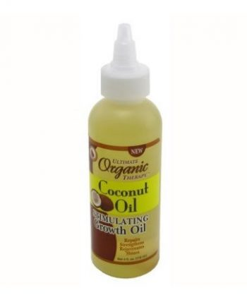 ULTIMATE ORGANIC THERAPY COCONUT OIL STIMULATING GROWTH OIL 118 ML 4 FL.OZ, 034285555047