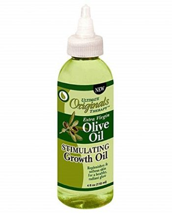 ULTIMATE ORGANIC THERAPY - EXTRA VIRGIN OLIVE OIL STIMULATING GROWTH OIL, 4 FL.OZ / 118 ML, 034285557041