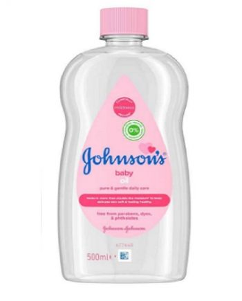 OIL BABY JOHNSON'S 500ML, ACEITE OLEO, 3574669909099
