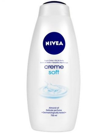 NIVEA - CREME SOFT, CREAM & SHOWER WITH ALMOND OIL, DELICATE PARFUME & DERMATOLOGICALLY TESTED, 750 ML, 4005808134830
