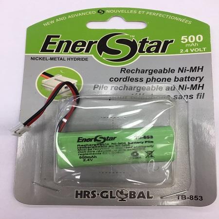 TB-853 ENERSTAR RECHARGEABLE NI-MH 500MAH