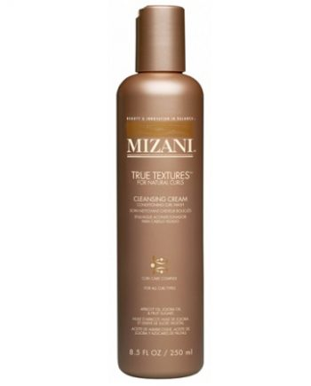 MIZANI TRUE TEXTURES - CLEANSING CREAM CONDITIONING CURL WASH FOR NATURAL CURLS (SOIN NETTOYANT CHEVEUX BOUCLÉS), 8.5 FL.OZ / 250 ML