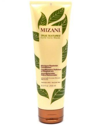 MIZANI TRUE TEXTURES - MOISTURE REPLENISH CONDITIONER INFUSED WITH COCONUT, OLIVE & MARULA OILS (CONDITIONNEUR HYDRATANT ET RÉGÉNÉRANT), 8.5 FL.OZ / 250 ML