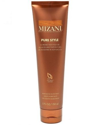 MIZANI - PURE STYLE WORKABLE HIGH HOLD GEL (GEL MODULABLE FIXATION FORTE) 99% NATURALLY DERIVED, 5 FL.OZ / 150 ML