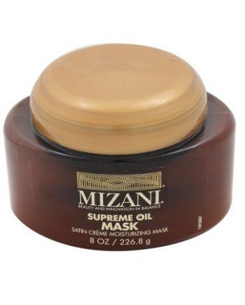 MIZANI - SUPREME OIL MASK SATIN CRÈME MOISTURIZING MASK, 8 OZ / 226.8 G