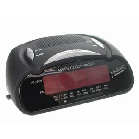 ESCAPE - RADIO REVEIL NUMERIQUE AVEC RADIO AM/FM, RA-42885