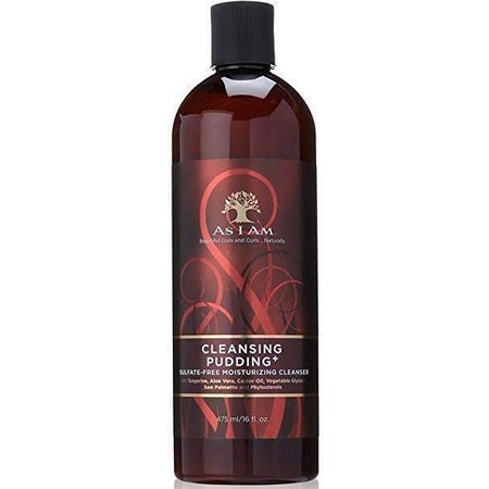 AS I AM - CLEANSING PUDDING+, SULFATE-FREE MOISTURIZING CLEANSER (SHAMPOING HYDRATANT SANS SULFATE), 237 ML/ 8 FL.OZ