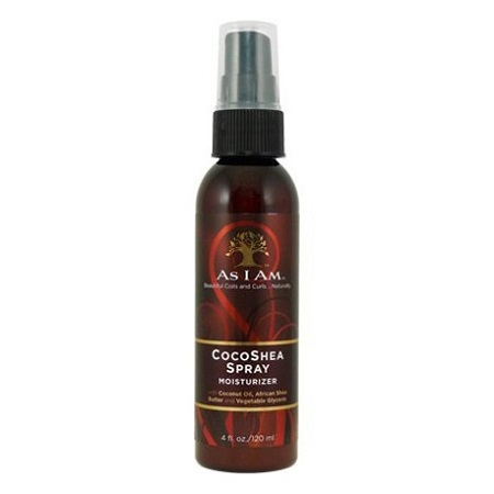 AS I AM - COCOSHEA SPRAY MOISTURIZER SPRAY HYDRATANT COCOKARITÉ, POUR DE BELLES BOUCLES, NATURELLES, 120 ML / 4 FL.OZ