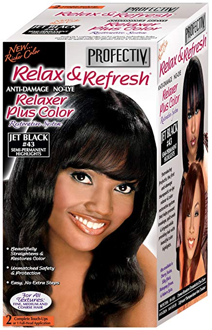 Relaxer plus color Cherry Fusion