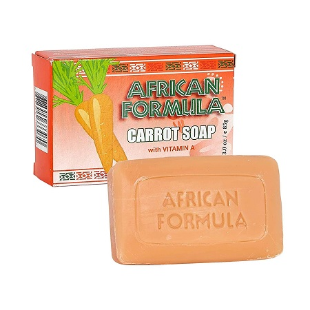 CARROT SOAP WITH VITAMIN A