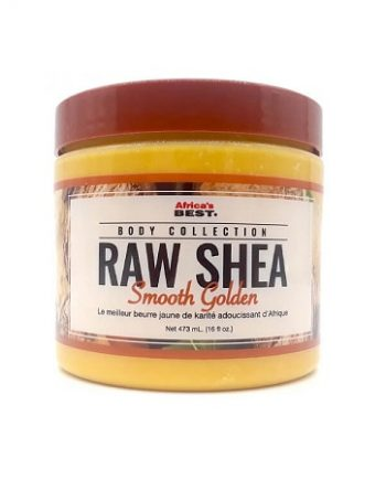 RAW SHEA SMOOTH GOLDEN