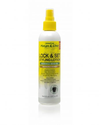 LOCK AND SET STYLING LOTION MORINGA SEED OIL