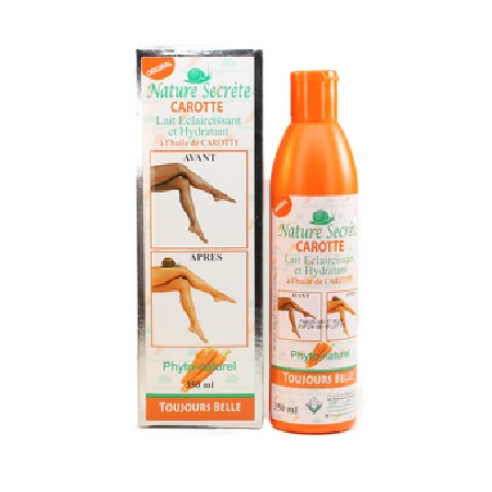 BODY LOTION WITH CARROT OIL