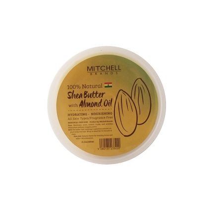 SHEA BUTTER WITH ALMOND OIL