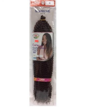 CURACAO CORK SCREW CURL 18 INCHES COLOR 30
