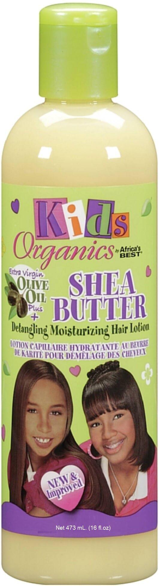 SHEA BUTTER DETANGLING MOISTURIZING HAIR LOTION