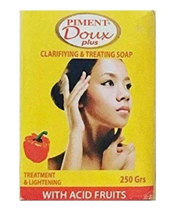 CLARIFIYING AND TREATING SOAP