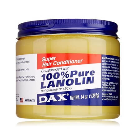 SUPER HAIR CONDITIONER COMPOUNDED WITH 100% PURE LANOLIN