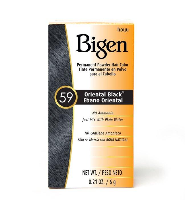 BIGEN 59 ORIENTAL BLACK